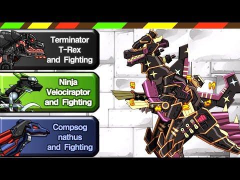 Dino Robot 58: Ninja Tyranno   FULL GAME PLAY - 1080 HD   DCTE VN