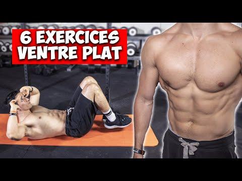 6 exercices ventre plat super efficace pour des résultats rapide !