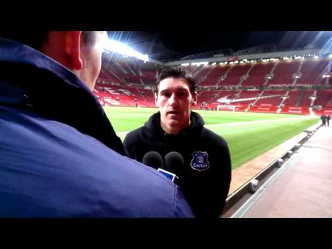 Gareth Barry on victory over Manchester United