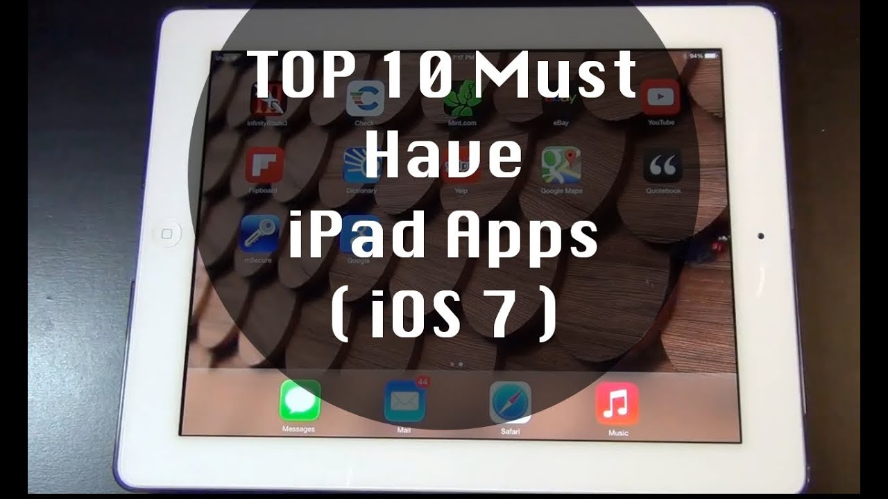 must have games for ipad