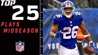 Top 25 Plays of 2018 (Midseason Edition)   NFL Highlights