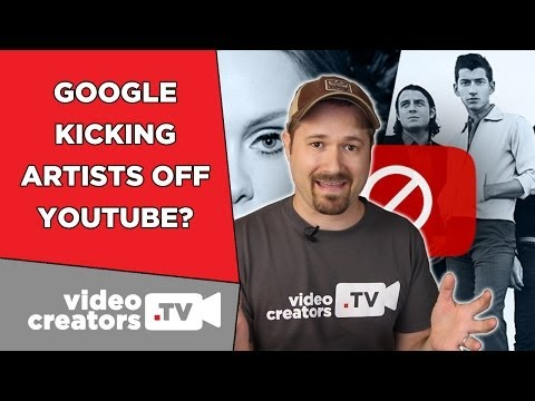 Why Google is Kicking Indie Artists off YouTube