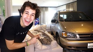 HE DROVE HIS CAR INTO MY LIVING ROOM!! (SURPRISE)