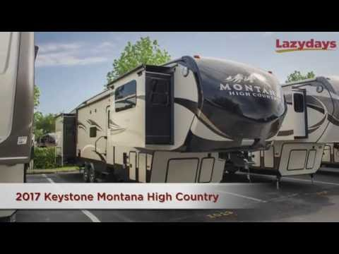 2017 Keystone Montana High Country Video at Lazydays