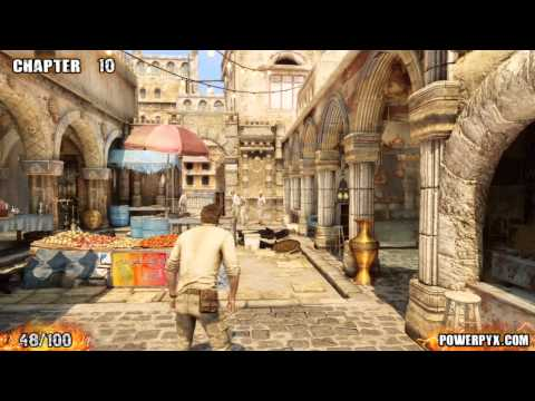 Uncharted 3 - All Treasure Locations (Part 2)