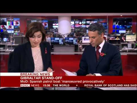 Gibraltar breaking news on the BBC image