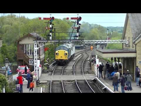 Nene Valley Railway 'Spring Diesel Gala' 18.05.2013 Part 1/2