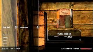 """Dica: Como Duplicar O Livro """"Oghma Infinium"""" Skyrim (PC"""