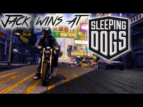 Jack wins at Sleeping Dogs | I'M WEI TOO COOL | Gameplay Commentary - PC Max Settings
