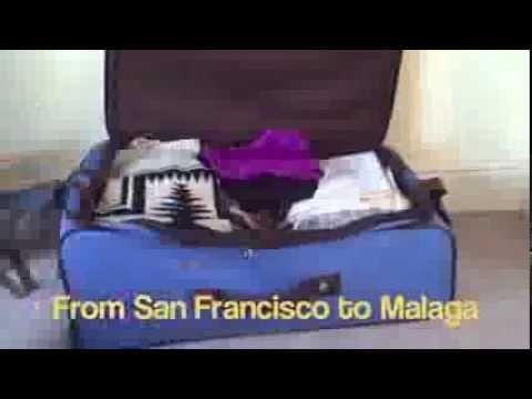 Caira Button: San Francisco to Malaga- ISA Video Correspondent 2014