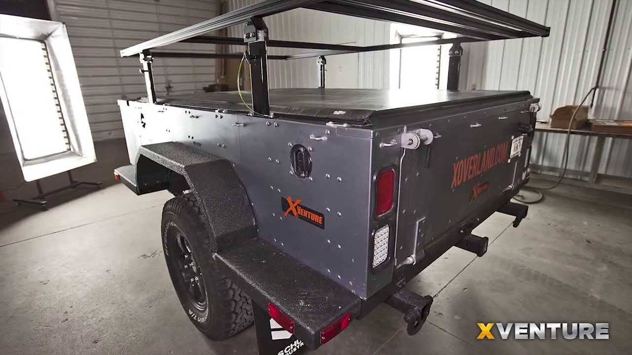 Xventure Off Road Camping And Utility Trailer Youtube