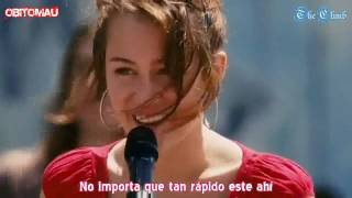 Miley Cyrus The Climb En Español [HD]