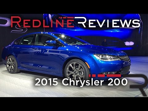 2015 Chrysler 200 - 2014 North American International Auto Show
