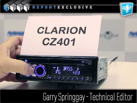 Clarion CZ401 CD Receiver Review
