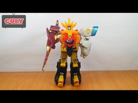 Robot Siêu nhân gao king biến hình siêu thú toy for kids đồ chơi trẻ em lắp ráp