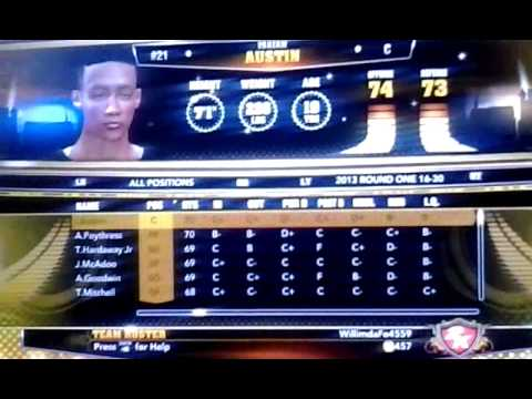 NBA 2k13 Draft Class all 60 rookies, Team USA Select, and More! - YouTube Jabari Parker Nba 2k13