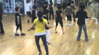 Blurred Lines Line Dance (Demo & Walk Through)