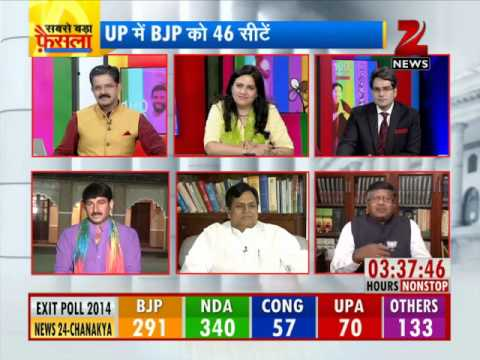 Exit polls 2014: Narendra Modi-led NDA winning 249-340 seats