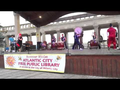 Atlantic City Library International Night Series featuring Taiko Masala on July 16, 2014