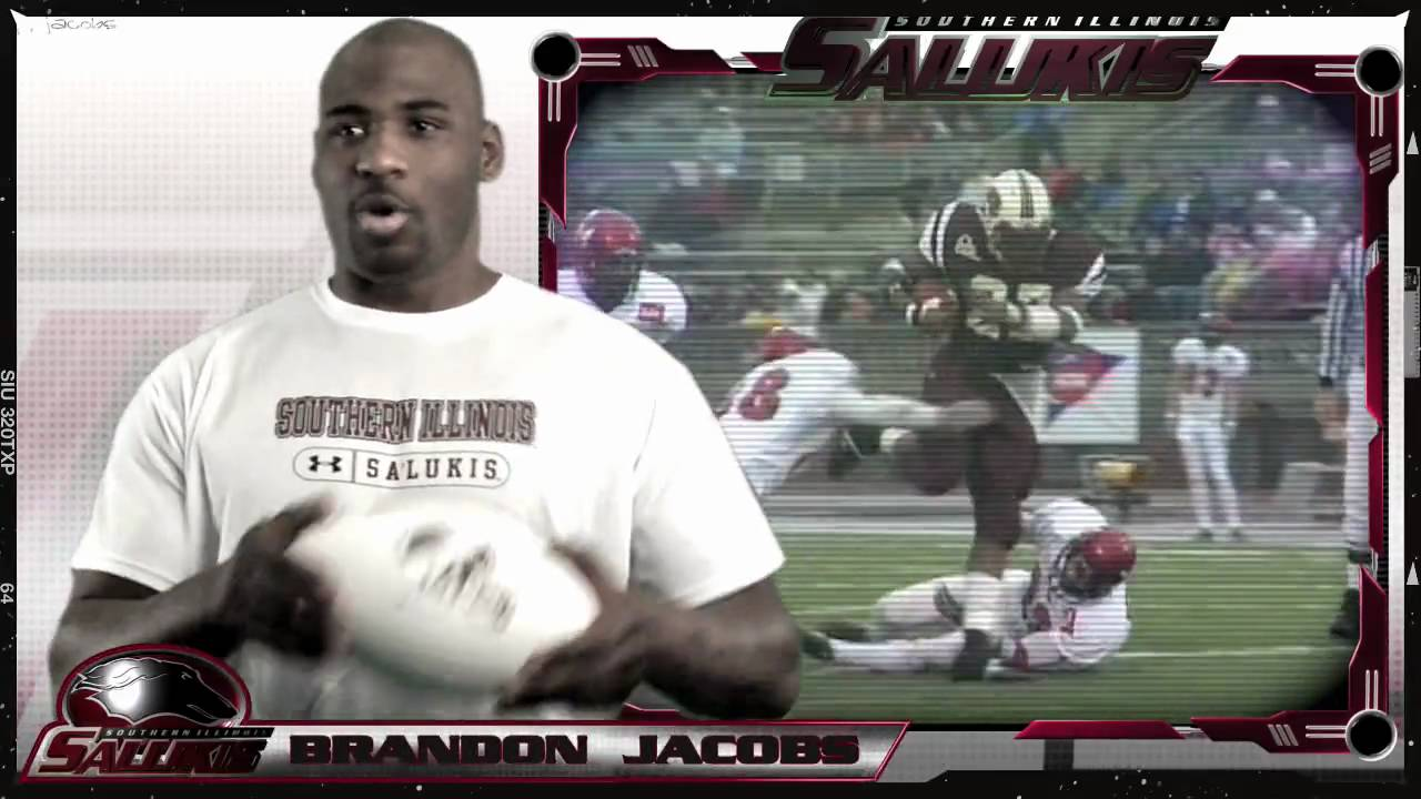 SIU RB Brandon Jacobs