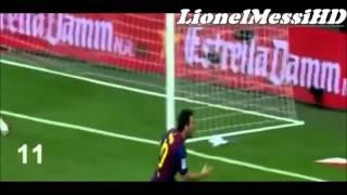 Los 18 Goles De Leo Messi Al Real Madrid