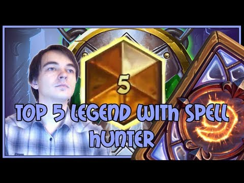 Hearthstone: Top 5 legend with spell hunter