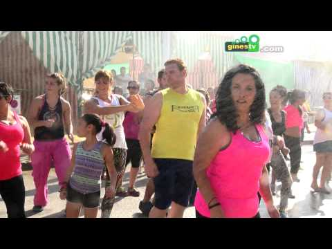Masterclass de Zumba Fitness en la Feria de San Ginés 2015