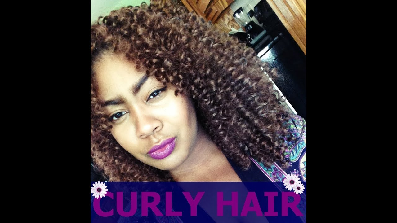 Crochet Braids Curly : Marley Crochet Braids with Curly Hair