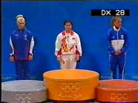 Women 63 kg Weightlifting - Olympic Games Sydney 2000 - by GENADI - Sport Expert