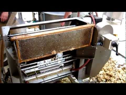 Honey extracting process
