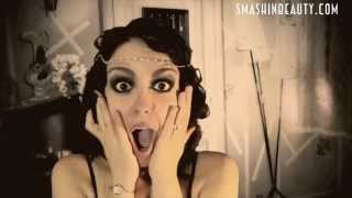 1920s Flapper Girl Makeup Halloween Makeup Tutorial 2013