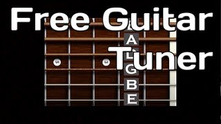 Free Online Guitar Tuner Easy To Use