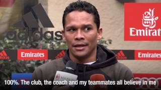 """Carlos Bacca: """"""""I want to stay, I love this club"""""""