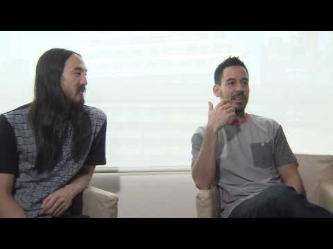 "Mike Shinoda and Steve Aoki Discuss ""A LIGHT THAT NEVER COMES"""