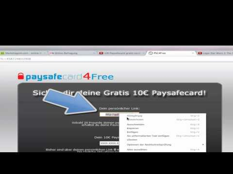 How to paysafecard-4-Free [German]