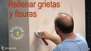 Reparar una grieta en la pared