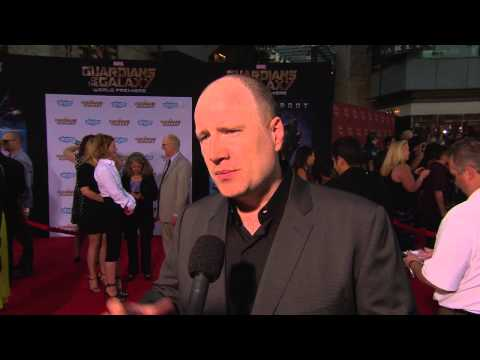 Guardians of the Galaxy: Producer Kevin Feige Red Carpet Movie Premiere Interview