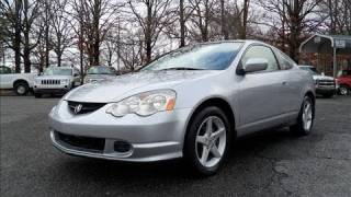 2002 Acura RSX 5-spd Start Up, Engine, and In Depth Tour