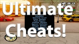 GTA San Andreas Mods Ultimate Cheats Mod [HD][CLEO