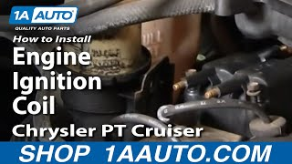 How To Install Replace Engine Ignition Coil Chrysler PT