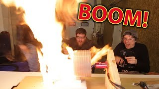 67,000rpm TOY JET Engine Explosion - FIRE