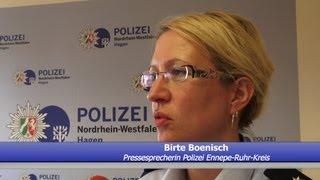 NRWspot.de | PK O-Ton Birte Boenisch – Pressesprecherin Polizei Ennepe-Ruhr-Kreis