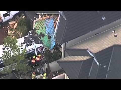 Bus crashes into a house in Australia  Driver killed and others injure