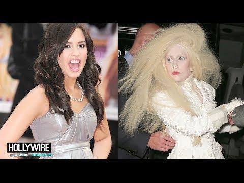 Demi Lovato Calls Out Lady Gaga's SXSW Vomit Stunt!