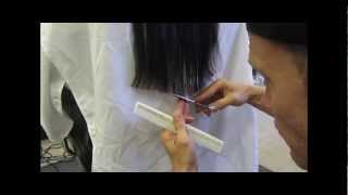 Long Clipper Haircut V Shaped Cut Video HD