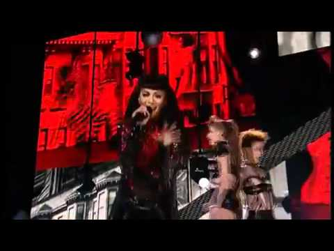 Nicole Scherzinger - Poison (Live Jingle Bell Ball 2010) 4/12/2010
