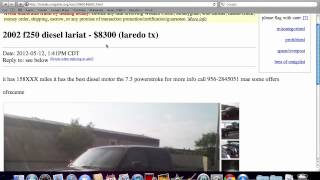 Craigslist Laredo Used Trucks, Vans And Cars Under $3500