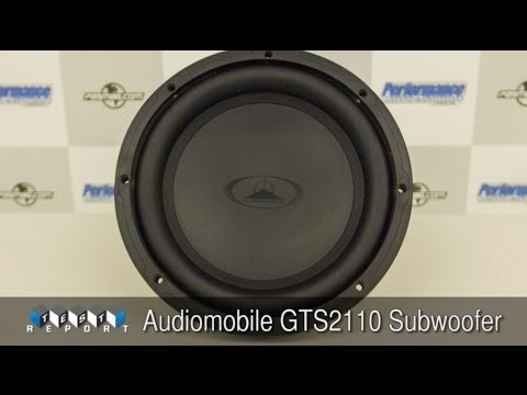 Audiomobile GTS2110 Subwoofer