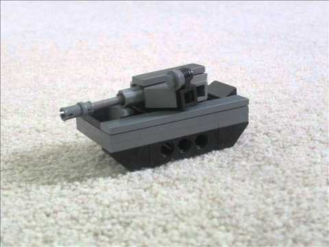 Lego Mini Helicopter   Lego Tank Instructions   Lego Micro TankLego Army Tank