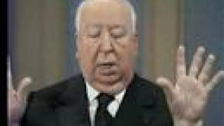 Alfred Hitchcock on Dick Cavett